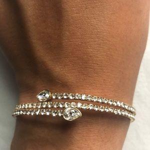 Swarovski Gold & Crystal Bracelet